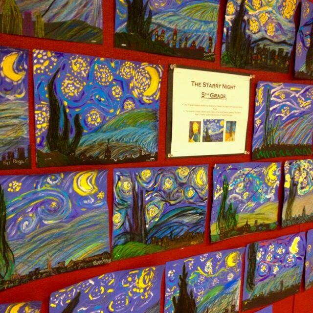 Teaching Ideas The Starry Night Teaching Through The Arts