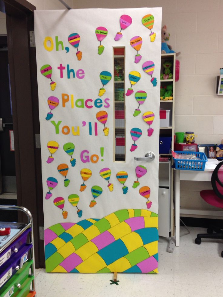 Classroom door decoration ideas - Teaching through the Arts